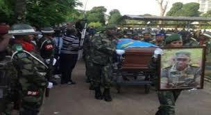 Obsèques de Mamadou à Kinshasa