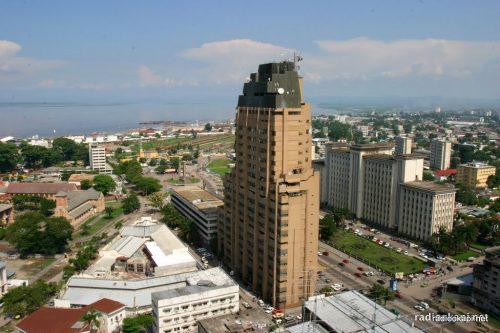 Vue de Sozacom, Kinshasa. Photo, droits tiers