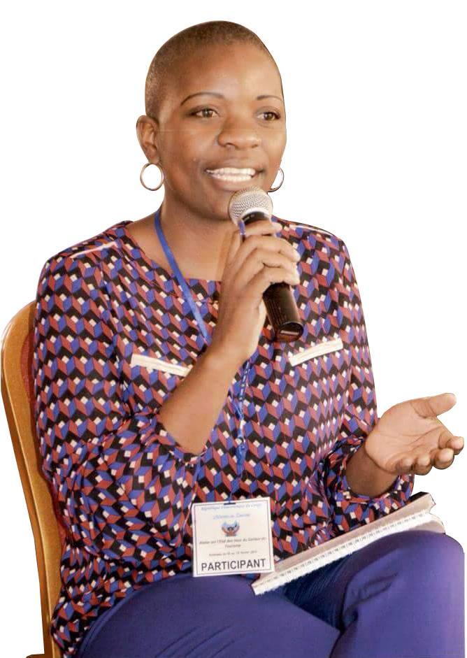 Mon combat, la dignité humaine et la justice sociale à Goma singulièrement et sur l'ensemble de la RD Congo en général.